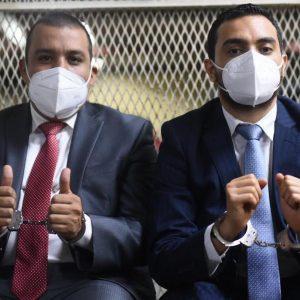 """Juan Francisco Solórzano Foppa y Aníbal Argüello son señalados por el Ministerio Público (MP) en el caso """"Política y falsedad""""."""