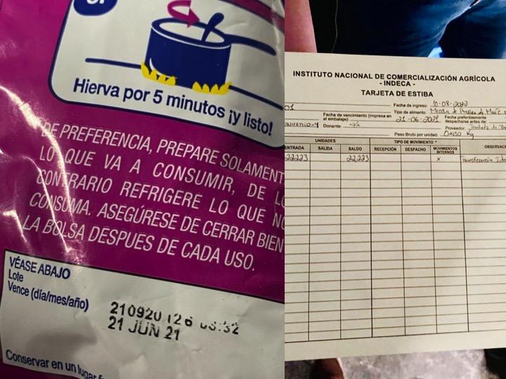 El gobierno de Guatemala adquirió alimentos para beneficiar los afectados por la pandemia en el área rural.