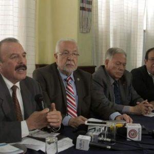 Miembros de la Asociación de Exdignatarios de la Nación.
