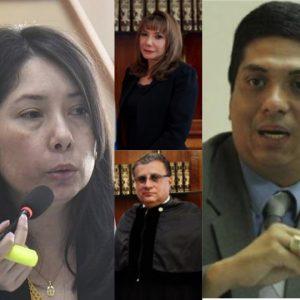 Magistrados de la Corte Suprema de Justicia (CSJ) conocerán antejuicio solicitado por Mynor Moto en contra de Erika Aifán.
