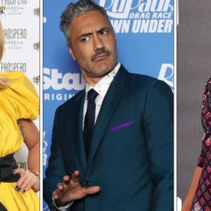 Rita Ora, Taika Waititi y Tessa Thompson