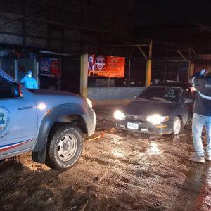 Suman más de 19 mil los afectados por las lluvias, según la Conred