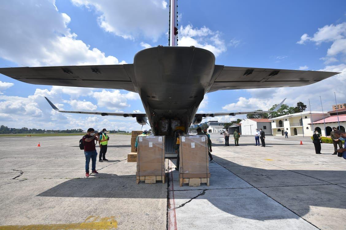 México dona ventiladores al país