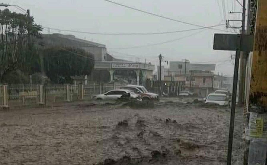 Inundaciones en Patzún, Chimaltenango