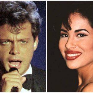 Selena y Luis Miguel