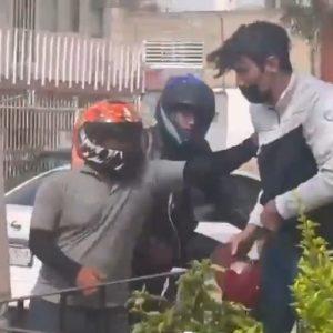 Ladrón golpeado en Guadalajara, México