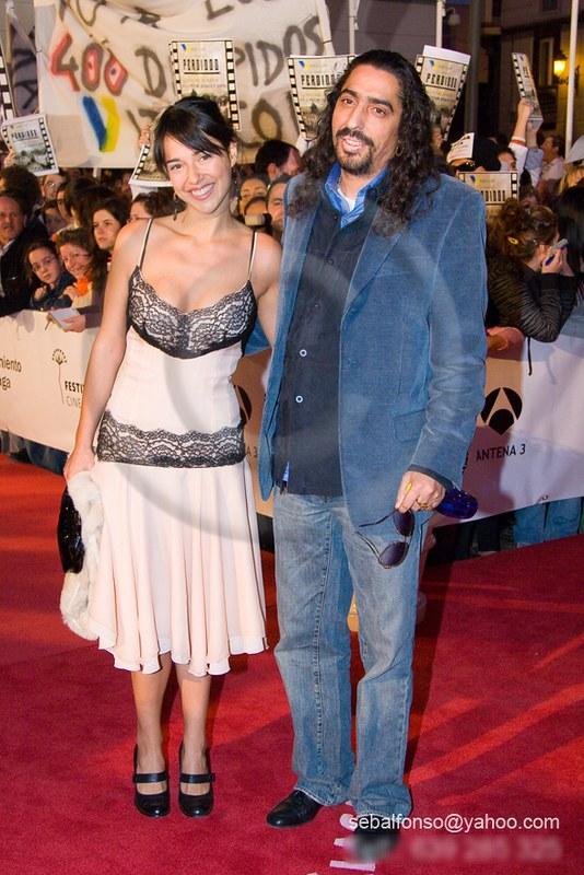 Diego EL Cigala y su esposa