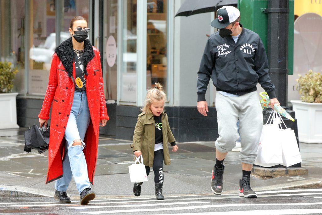 Bradley Cooper, Irina Shayk, Lea Cooper
