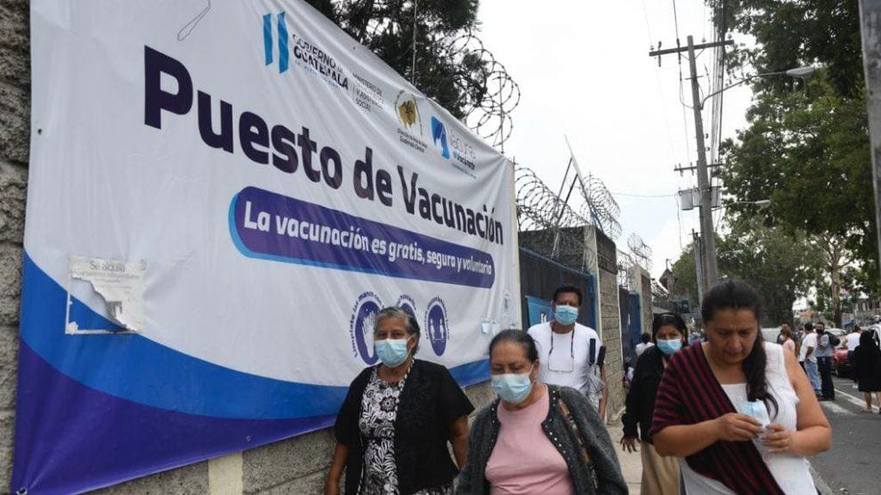 Centro de vacunación contra el COVID-19.