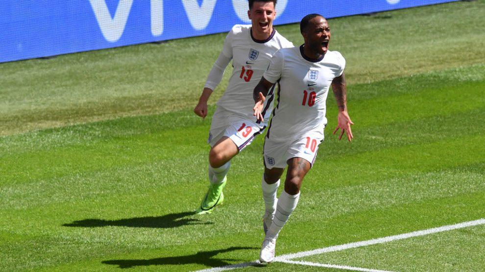 Sterling le da el triunfo a Inglaterra sobre Croacia