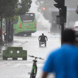 Torrenciales lluvias causan estragos en la ciudad y municipios aledaños