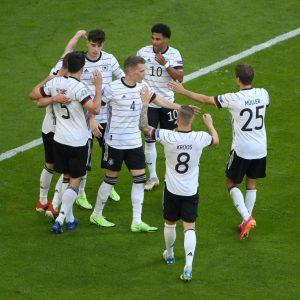Alemania derrota al campeón de la Eurocopa