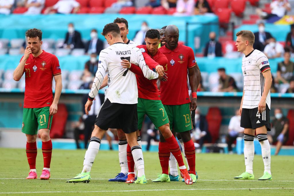 Portugal vs Alemania, segundo tiempo Eurocopa
