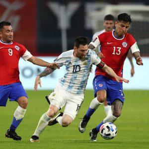 Argentina vs Chile, Copa América 2021