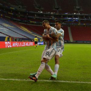 Argentina derrota a Uruguay en la Copa América