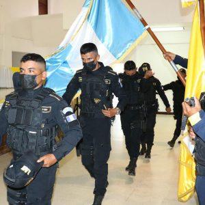 Municipalidad de Santa Catarina Pinula gradúa a agentes de Municipalidad de Morales, Izabal