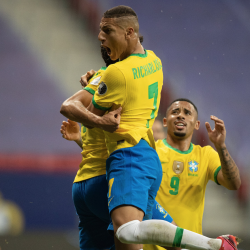 "VIDEO. Brasil se bebe un dulce trago de ""Vinotinto"""