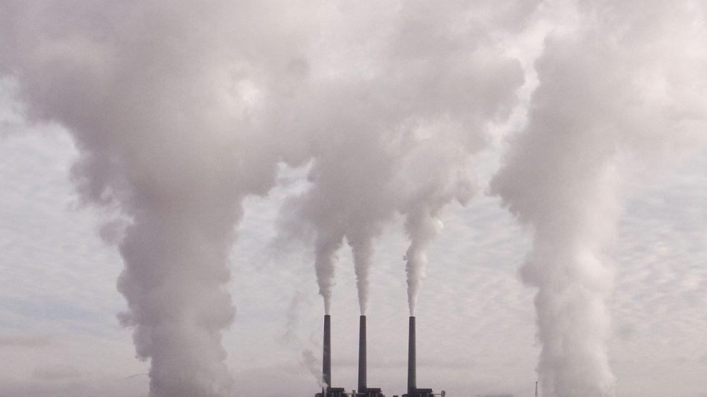 Dióxido de carbono (CO2) en el aire