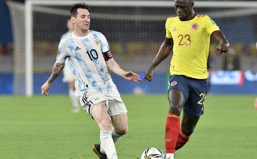 Colombia y Argentina empatan en la jornada 8 de eliminatorias