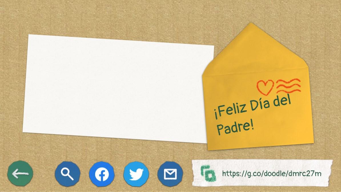 Doodle interactivo por el Día del Padre 2021