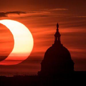 Eclipse solar de junio 2021