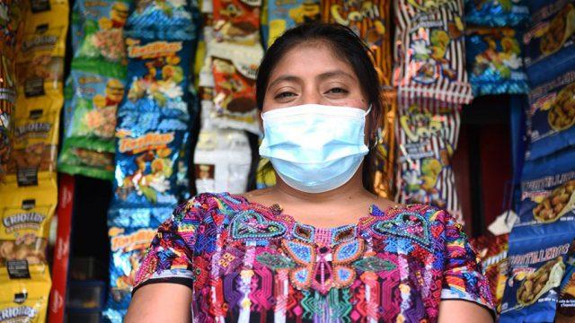 Ilma García en el Día del Tendero