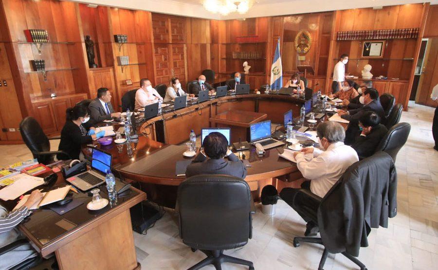 Pleno del Organismo Judicial