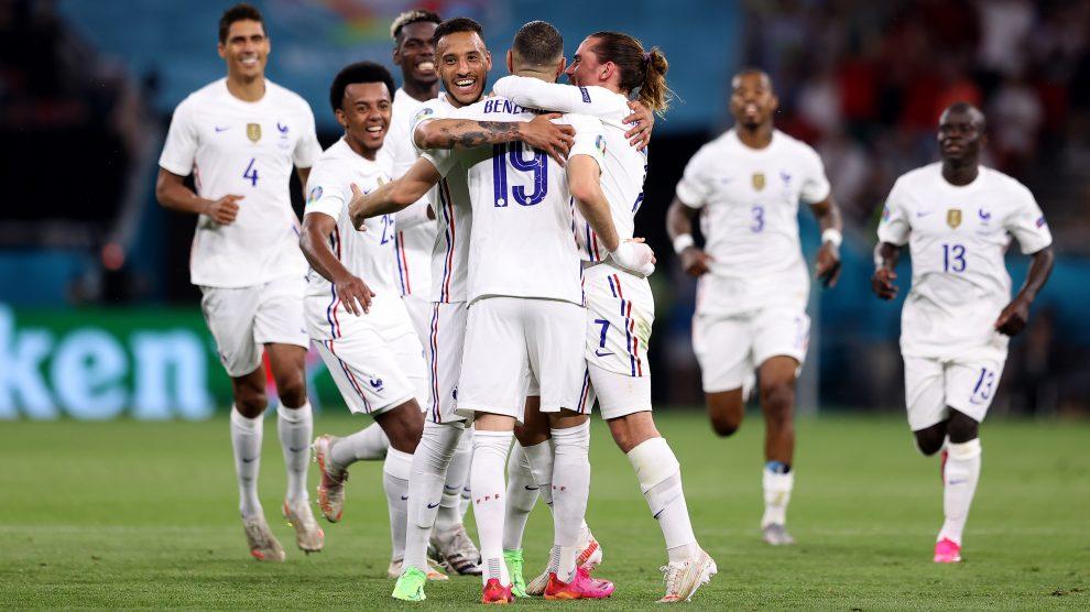 Portugal vs Francia y Alemania vs Hungría resultados Eurocopa
