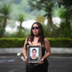 Andrea González, activista trans asesinada en la zona 1, es sepultada