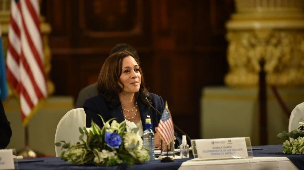 Kamala Harris, vicepresidenta de los Estados Unidos