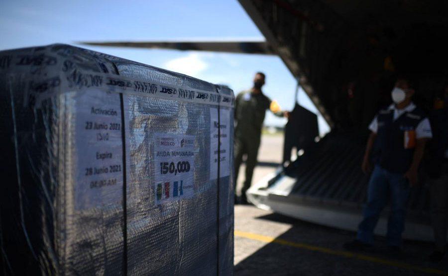 Donación de 150 mil dosis de AstraZeneca por parte de México