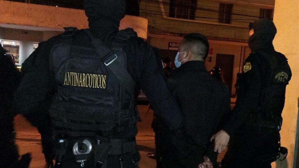 Félix Efraín Pablo Ramón fue capturado por la Policía Nacional Civil (PNC).