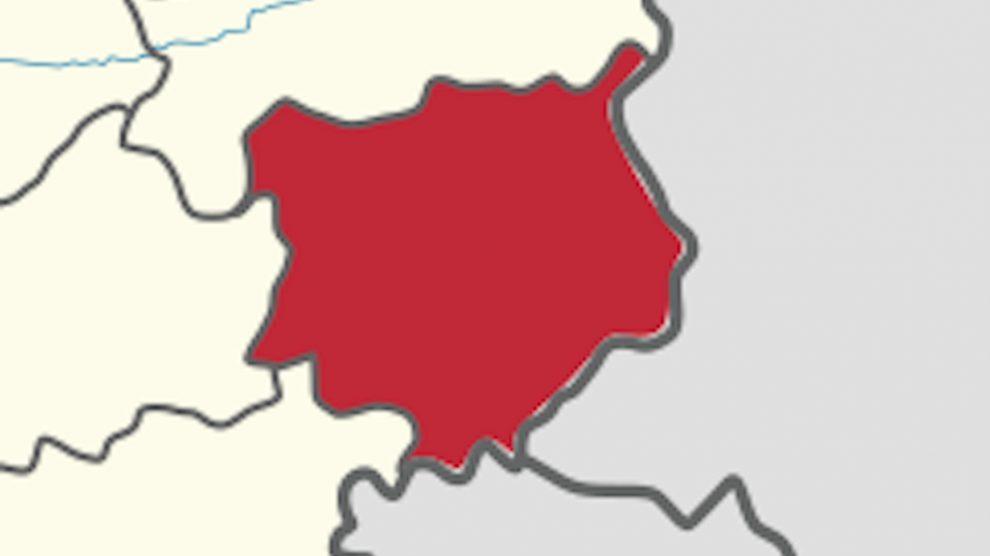 Mapa de Chiquimula.