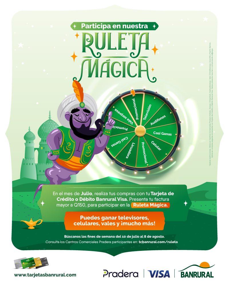 Ruleta Mágica