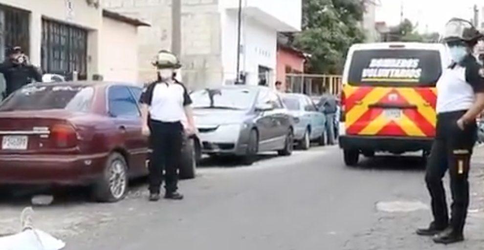 Un nuevo hecho de violencia ocurrió este sábado 31 de julio en la colonia Paraíso 2, en la zona 18.