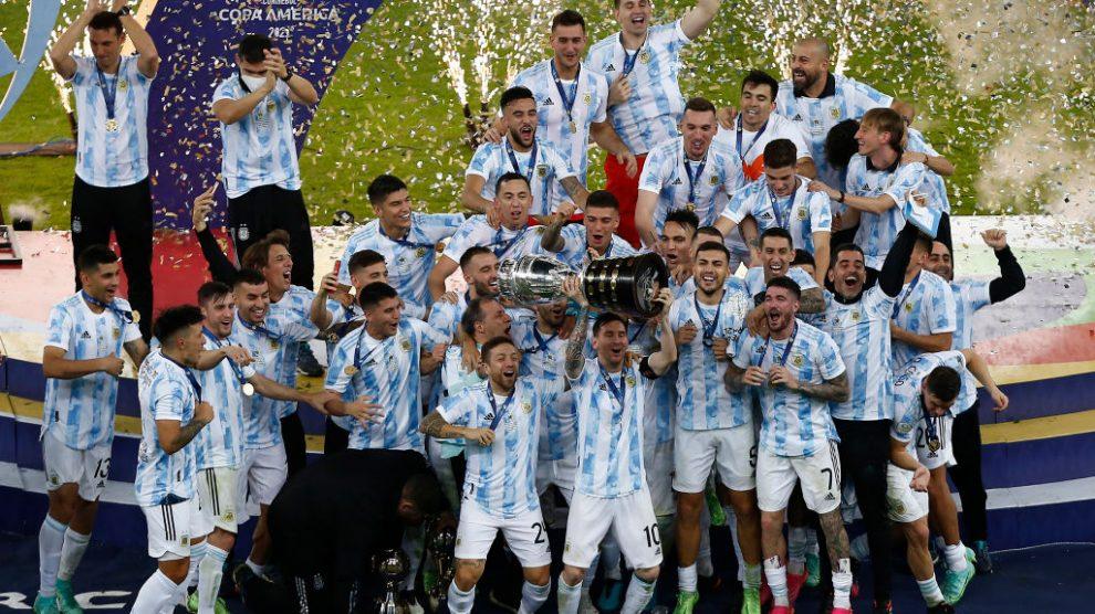 Argentina es campeón de la Copa América 2021