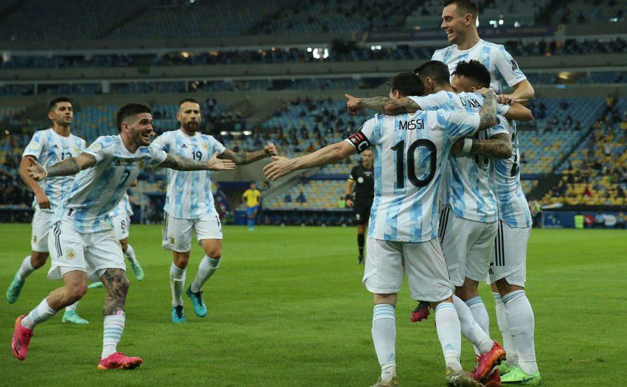 Argentina se enfrentó a Brasil