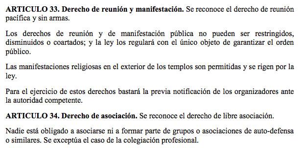 Artículo 33 de la Constitución Política de la República