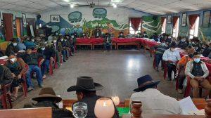 Autoridades indígenas de Sololá