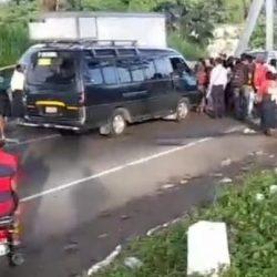 Por segundo día consecutivo, se registran bloqueos en carreteras