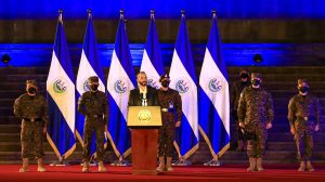 Nayib Bukele y el Ejército de El Salvador