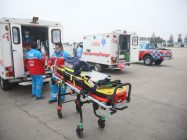 Accidente de camioneta en Perú