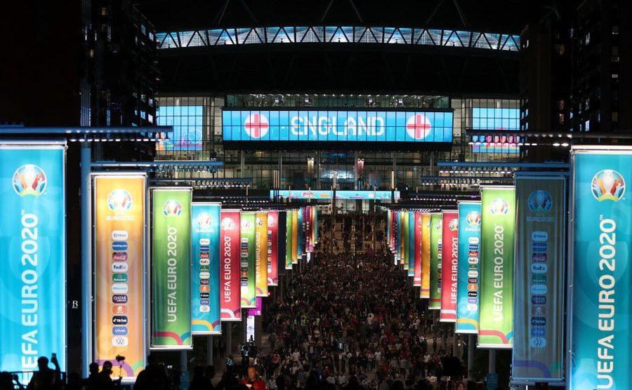 Estadio Wembley para la Euro 2020
