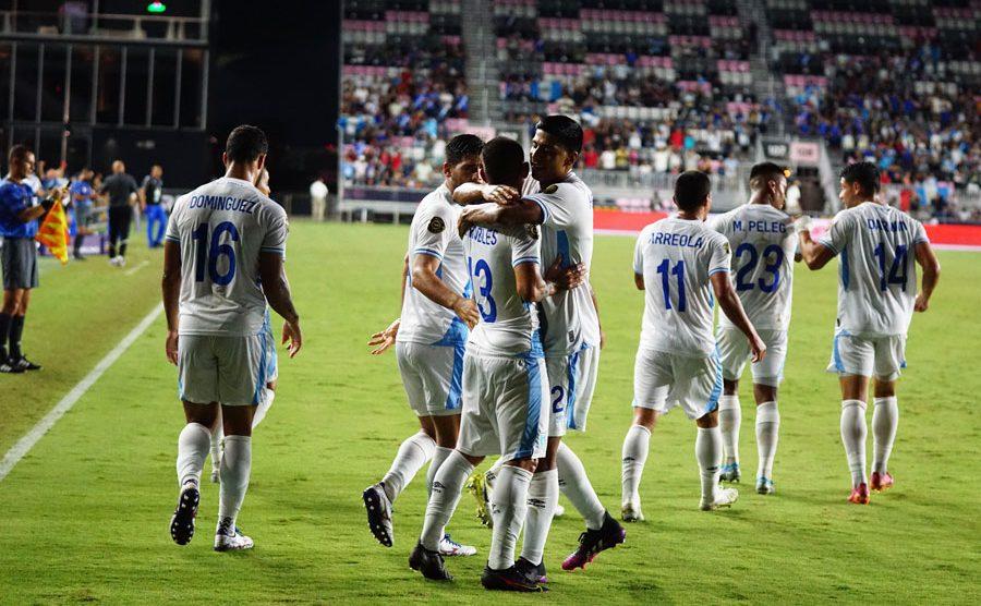 Guatemala derrotó a Guyana en el camino a Copa Oro