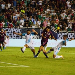Guatemala pierde contra México