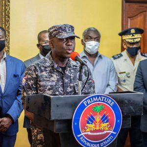 Leon Charles, director general de la Policía De Haití