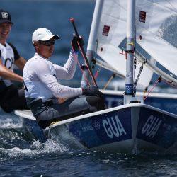 Sobresaliente actuación de Juan Ignacio Maegli en la primera regata de categoría láser