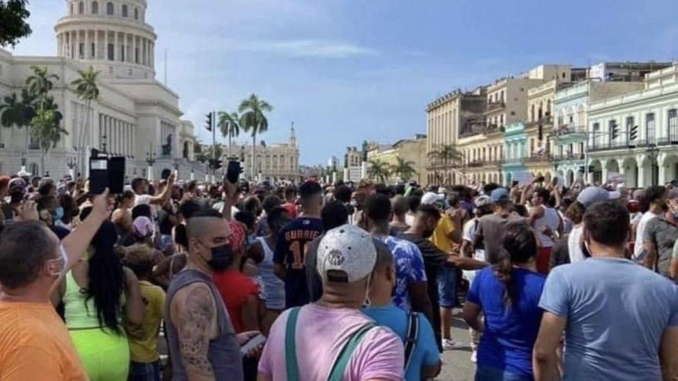 Manifestaciones en Cuba