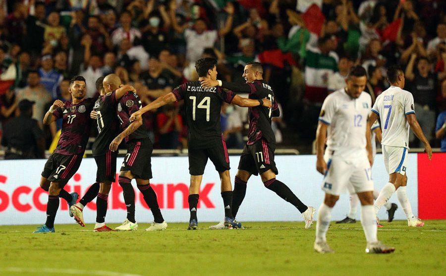México venció a El Salvador en la Copa Oro