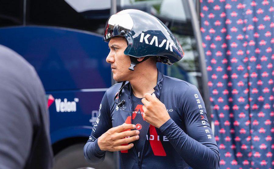 Ciclista Richard Carapaz